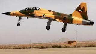 Jet Tempur Milik Negara Syiah Iran Jatuk karena Masalah Teknis