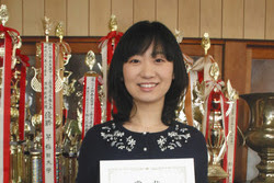 松田沙也香さん全国計算競技大会一般の部個人総合三連覇