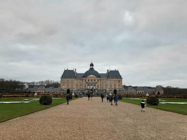 Château Vaux le Vicomte Maincy Seine et Marne monument historique Nicolas Fouquet Noël
