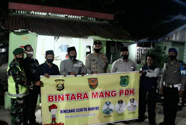 Kapolda Sumsel Apresiasi Gerakan  BINTARA Kecamatan Bayung Lencir