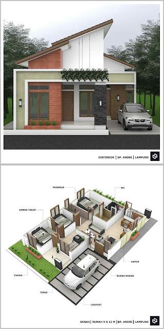 Desain Rumah Minimalis Terbaru Lengkap dengan Denah