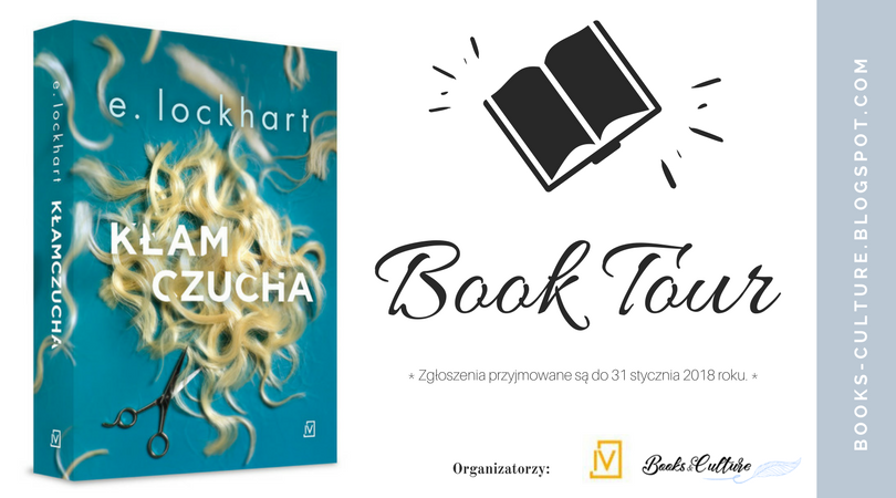 "BOOK TOUR - ""Kłamczucha"" E. Lockhart"