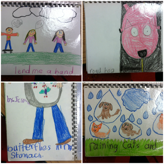 Second grade Takeaway: Book of idioms