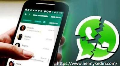 cara membuat aplikasi whatsApp teman error