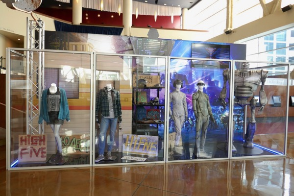 Ready Player One movie exhibit