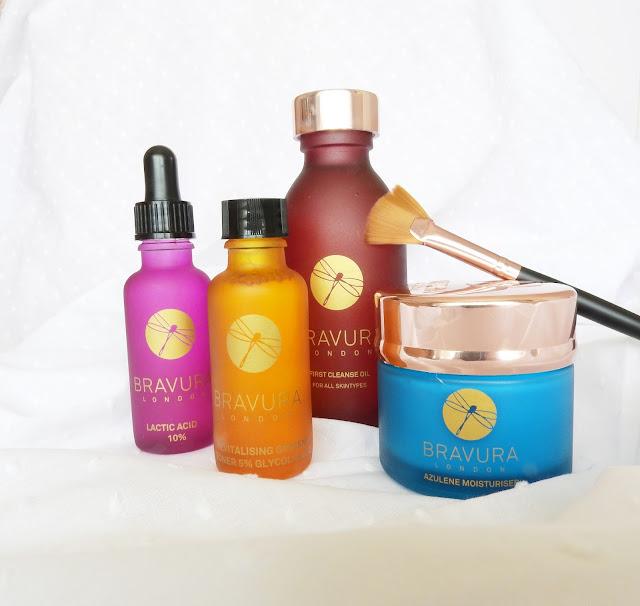 bravura, skin, skincare routine, skincare, beauty, review