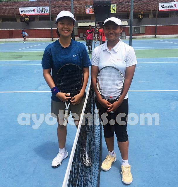 Lumat Shirly, Jessica Christa Melaju ke Semifinal Kejurnas Tenis Yunior Piala Bupati Tulungagung