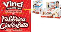 Logo Ferrero e Kinder ti fanno vincere un viaggio alla Fabbrica del Cioccolato!