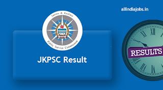 JKPSC Lecturer Result