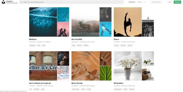 مواقع لتحميل الصور بدون حقوق الملكية