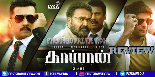 Kaappaan review : One time watchable action pack