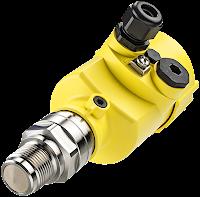 80 GHz radar level measurement device for industrial process control