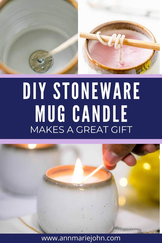 Stoneware Mug Candle Images