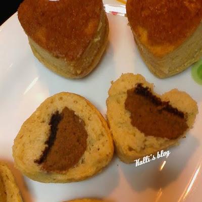 Κεκάκια γεμιστά με μπισκότο γεμιστό