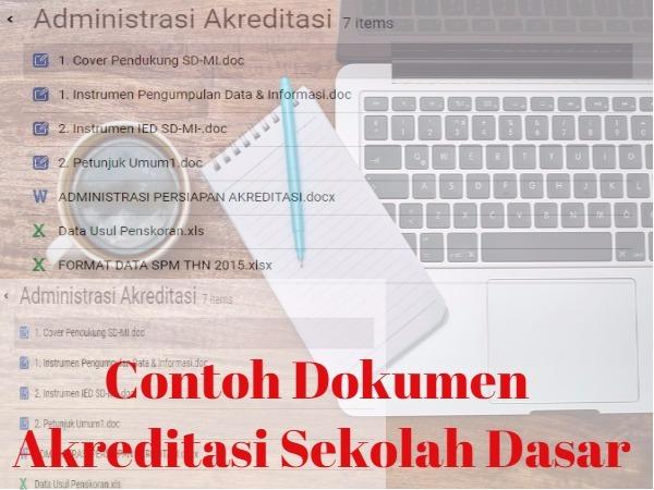 Contoh Dokumen Akreditasi Sekolah Dasar