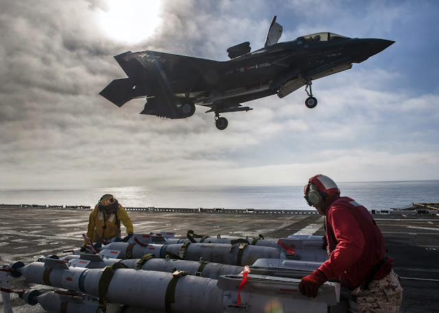 F-35B WEAPONS LOAD TESTING WRAPS UP ON USS AMERICA