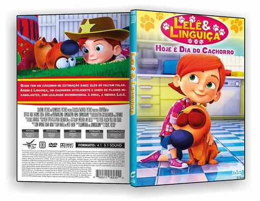 DVD – Lele e Linguiça Hoje e dia de Cachorro – ISO