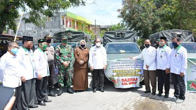 2.370 Paket Logistik BAZNAS Didistribusikan ke Seluruh Desa dan Kelurahan di Sidrap