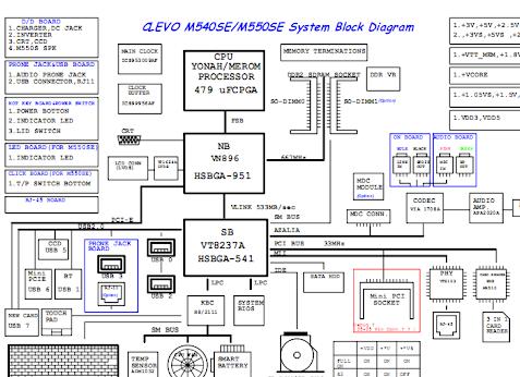 6-71-m5e50-d02a clevo m540se m550se Schematic