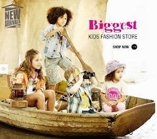 Flat Extra Rs.300 Off on Kids Clothing on Rs.999 at Jabong