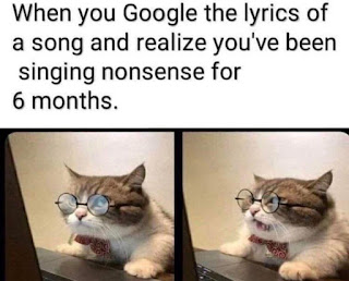 Song Lyrics, Google Meme