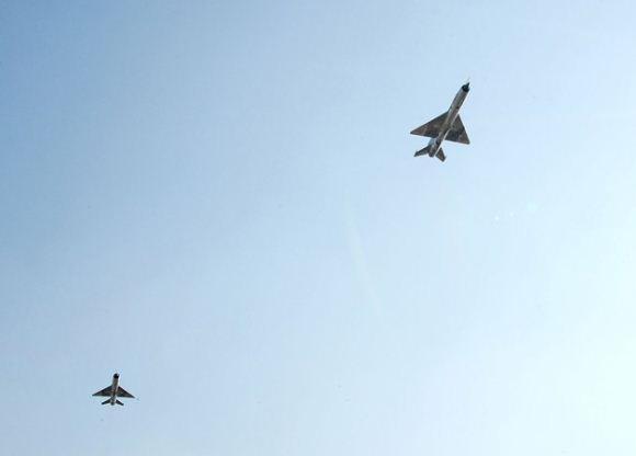 Jet tempur Korea Utara