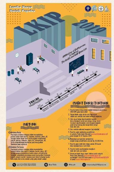 Lomba Karya Tulis Ilmiah Populer Nasional 2019 di IPB