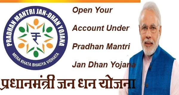 Jan Dhan account can be opened in any bank