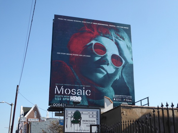 Mosaic series billboard