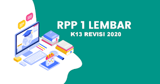 RPP 1 Lembar Mapel Aqidah Ahklak K13 Revisi 2020 Kelas 12 Jenjang MA