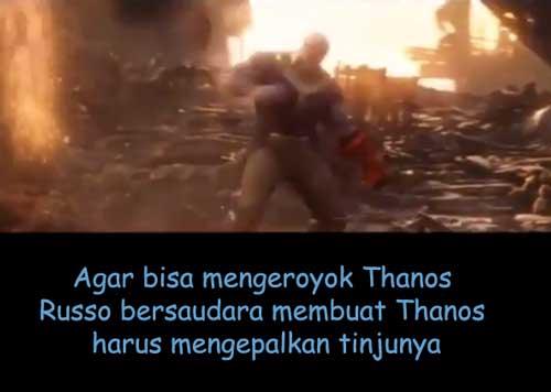 kepal tinju infinity stone thanos