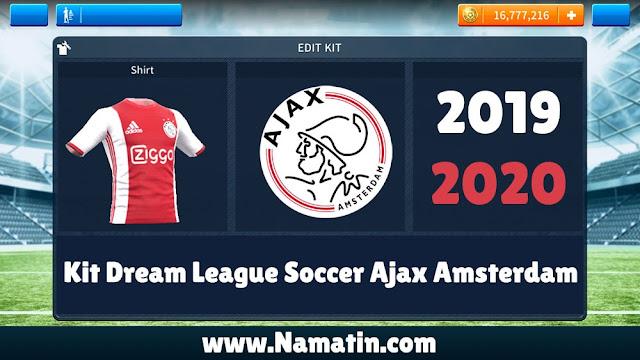 Kit Dream League Soccer Ajax 2020
