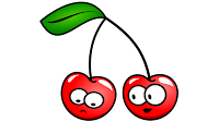 cherry cartoon clipart
