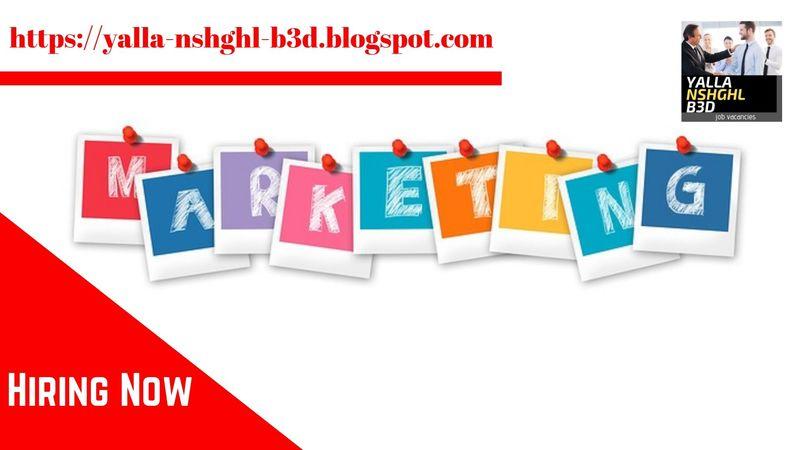 وظائف | Marketing Manager
