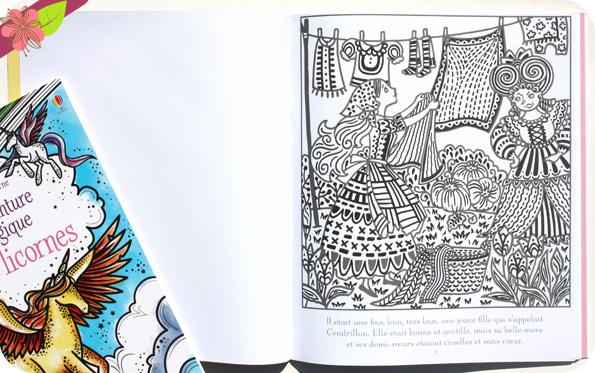 La peinture magique : Cendrillon - Usborne