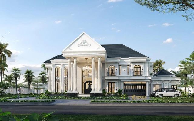 Desain Rumah Classic 2 Lantai