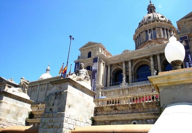 Palau nacional Barcelona Espanha