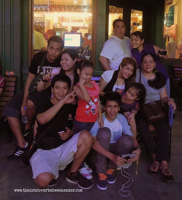 Family photo at Enchanted Kingdom