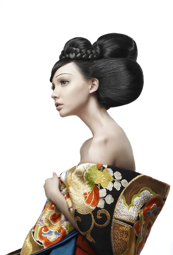 New Geisha 7 Avant Garde Haistyle And Makeup Trends The