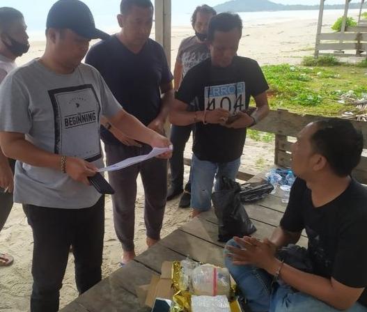 Kapal Boat Baru Sandar, Kurir 1 Kg Sabu dari Kepri Dihadang Polisi