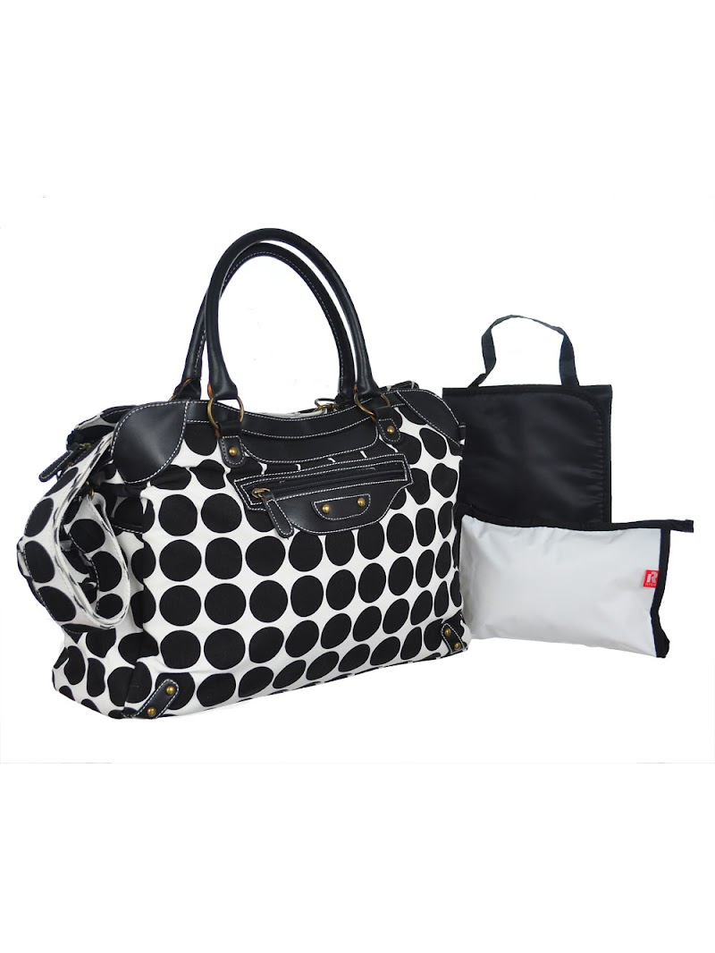 COOKIESKIDS - SIENNA DIAPER BAG WITH CHANGING PAD $24.99