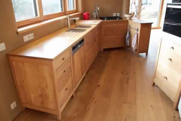 facade meuble cuisine bois brut. Black Bedroom Furniture Sets. Home Design Ideas
