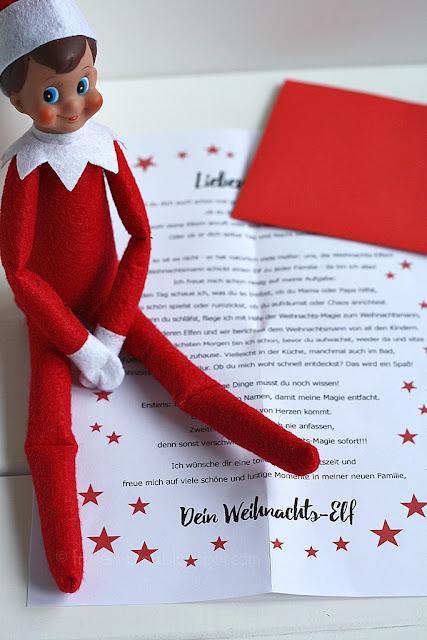 Weihnachtself Engel+Banditen, Weihnachtsbrauch, Weihnachtstradition, Elf, amerikanischer Brauch, Weihnachten mit Kindern, Vorweihnachtszeit, Adventszeit
