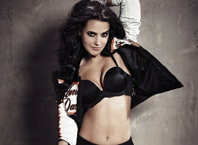 Neha Dhupia Featured On Cover FHM Feb 2013