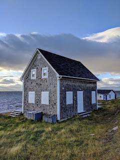 Fishing Cabin In White Point Along The Cabot Trail, Cape Breton Island