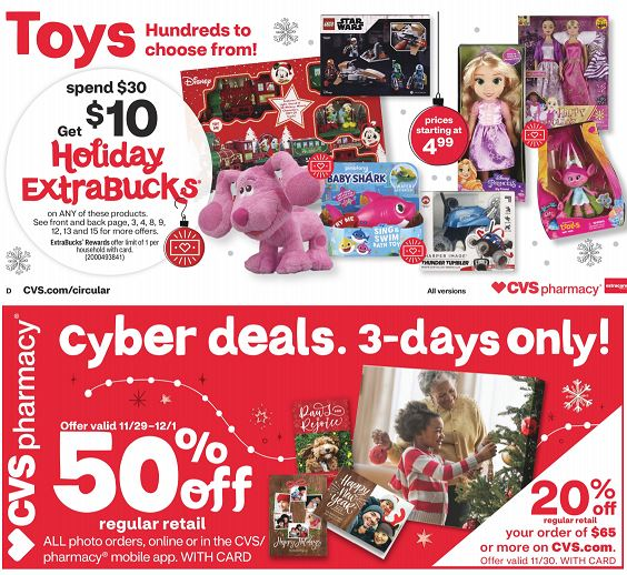 CVS Weekly Ad Preview 11/29-12/5