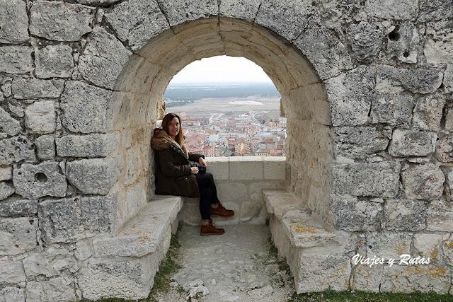 Parladoiro del Castillo de Íscar, Valladolid