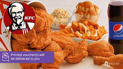 KFC Cash Voucher Discount Offer Promo