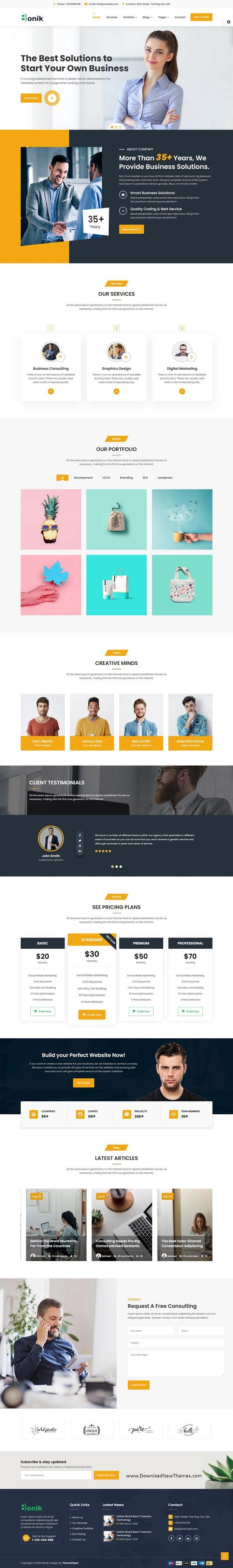 Multipurpose Business & Digital Agency Template