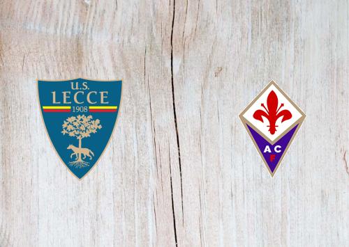 Lecce vs Fiorentina -Highlights 15 July 2020